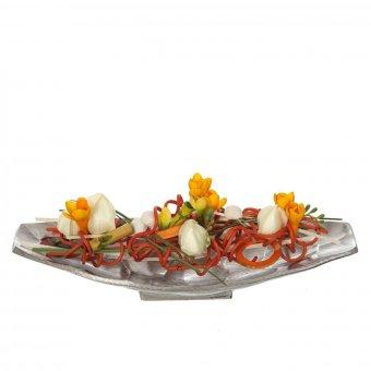 Centro mesa aluminio cincelado 50 · Decoración 3