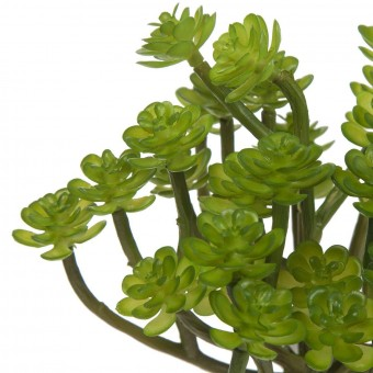 Planta crasa artificial mini echeveria tallos verde 14 · Crasas y cactus artificiales 2