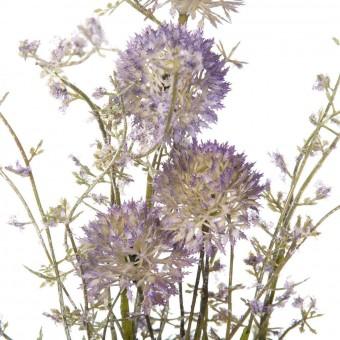 Rama silvestre allium artificial malva · Flores artificiales 2 · La Llimona home