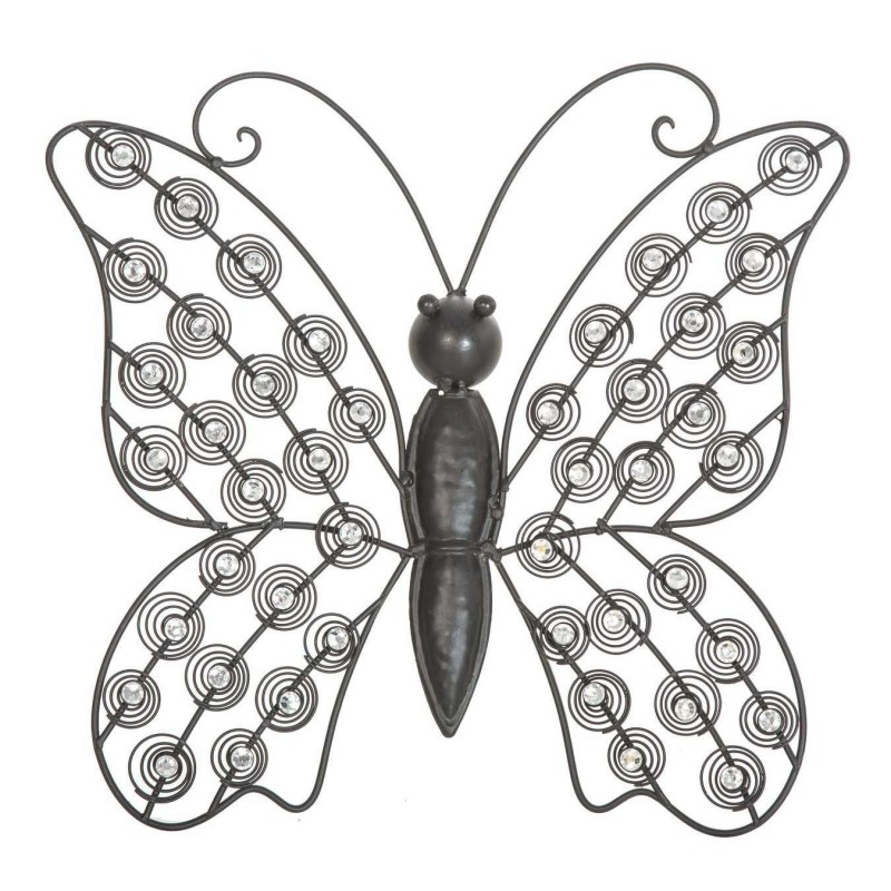 Mariposa brillantes metal 32 · Decoración