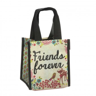 Natural Life bolsa compras mini 'Friends forever' reutilizable · Natural Life