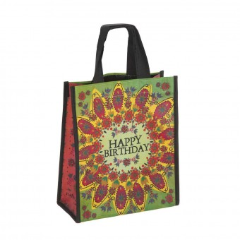 Natural Life bolsa compras mediana 'Happy birthday' reutilizable · Natural Life · La Llimona home
