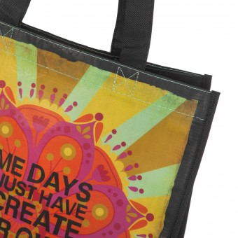 Natural Life bolsa compras grande 'Some days you just have to create' reutilizable · Natural Life 2