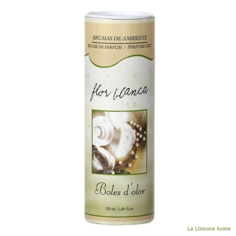 Brumizador - Brumas ambiente flor blanca 50 ml · Ambientadores