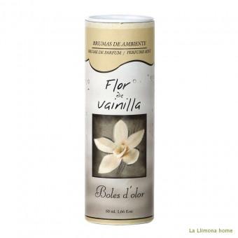 Brumizador - Brumas ambiente flor de vainilla 50 ml · Brumizadores, esencias y brumas