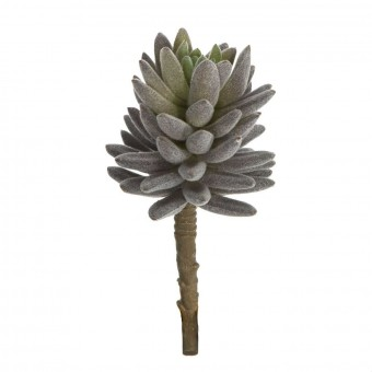 Planta artificial crasa suculenta echeveria berenjena 17