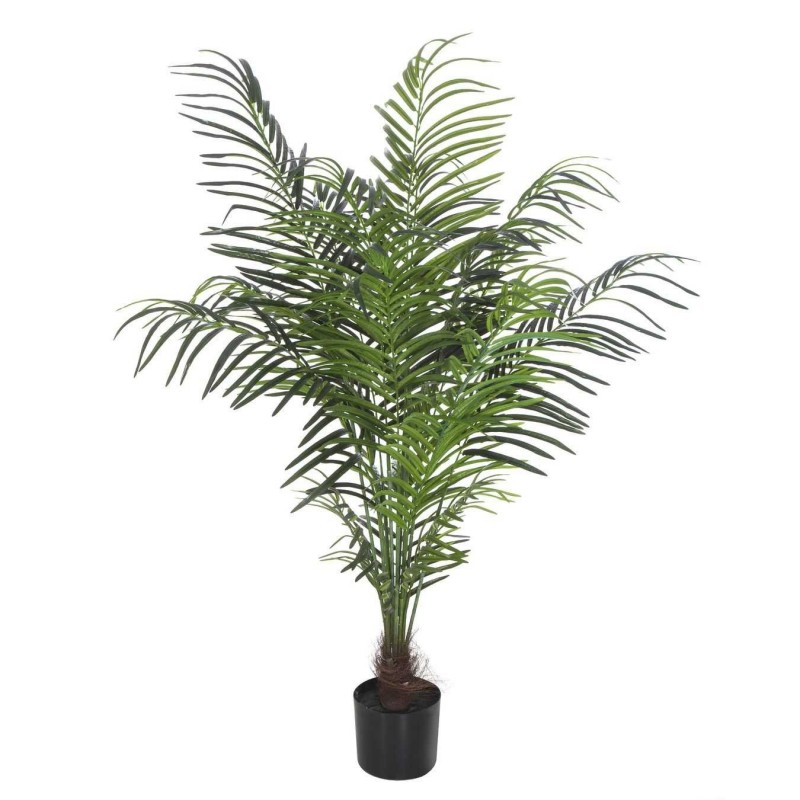 Planta areca artificial palm verde 140 con maceta · Plantas artificiales