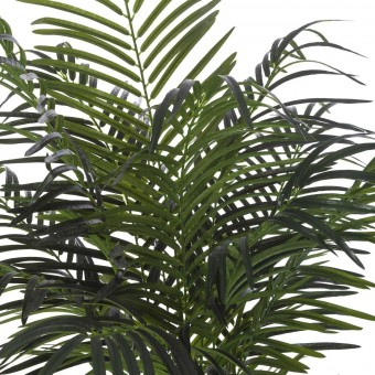 Planta areca artificial palm verde 140 con maceta · Plantas artificiales 2