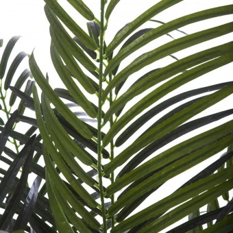 Planta areca artificial palm verde 140 con maceta · Plantas artificiales 3