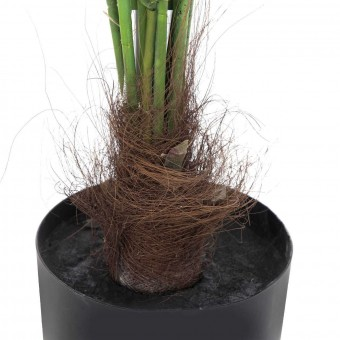 Planta areca artificial palm verde 140 con maceta · Plantas artificiales 4