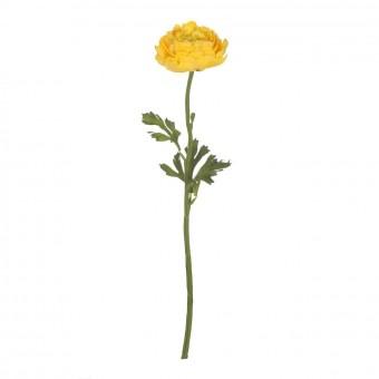 Flor ranúnculo artificial amarillo 51 · Flores artificiales 3 · La Llimona home