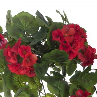 Planta artificial colgante geranios rojos 60 · Plantas colgantes artificiales · La Llimona home