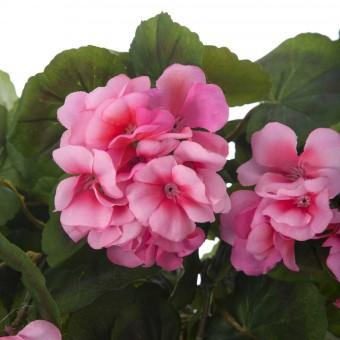 Planta artificial colgante geranios rosa 60 · Plantas colgantes artificiales · La Llimona home