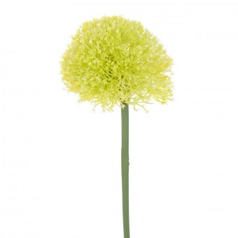 Flor allium artificial lima 63