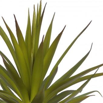 Planta crasa artificial mini yuca verde con maceta · Crasas y cactus artificiales 2