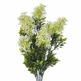 Ramo lilac artificial blanco · Ramos flores artificiales