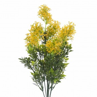 Ramo lilac artificial amarillo · Ramos flores artificiales
