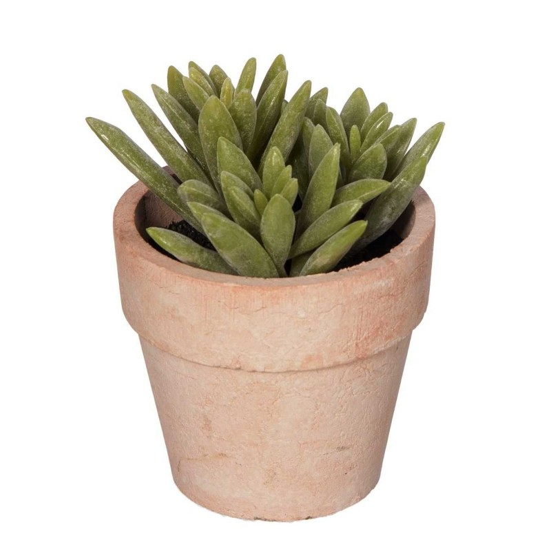 Planta mini cactus artificial con maceta 3903 · Crasas y cactus artificiales
