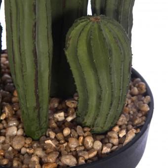 Planta cactus euphorbia artificial con maceta 58 · Crasas y cactus artificiales · La Llimona home
