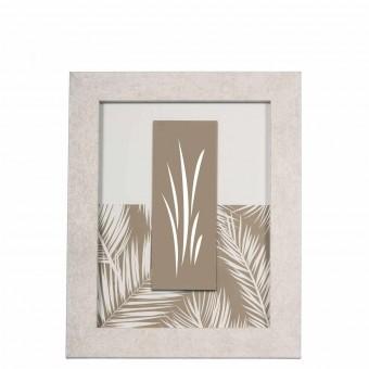 Portafotos madera 10x15 blanco satinado - Marcos para fotos