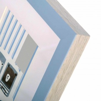 Portafotos multiple panda pared azul 10x15 2 fotos · Portafotos multi ventanas 2 · La Llimona home