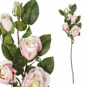 Rama rosa artificial bicolor 70 · Flores artificiales 3