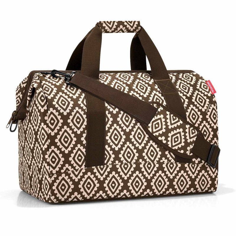 Reisenthel bolsa multiusos allrounder diamonds chocolate L · Reisenthel · Bolsas y neceseres