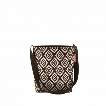 Reisenthel bolsa multiusos shoulderbag diamonds chocolate S · Reisenthel · Bolsas y neceseres