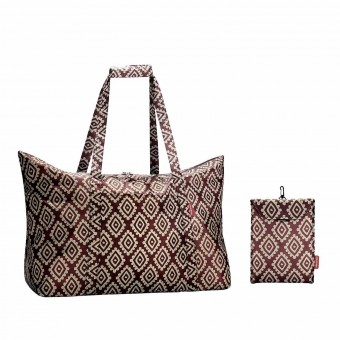 Reisenthel bolsa multiusos mini maxi travelbag diamonds rouge · Reisenthel · Bolsas y neceseres