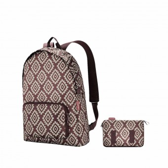 Reisenthel mochila plegable mini maxi diamonds rouge · Reisenthel · Bolsas y neceseres