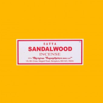 Incienso sandalwood caja 20 sticks