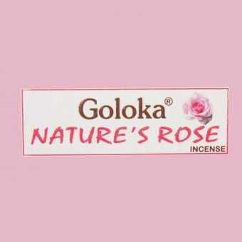 Incienso nature's rose caja 20 sticks