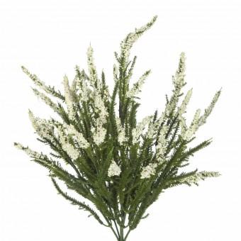 Rama artificial flores erica blanca· Plantas artificiales con flores