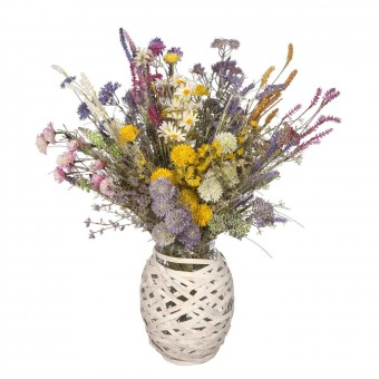 Ramo flores silvestres artificiales · Plantas artificiales con flores  · La Llimona home