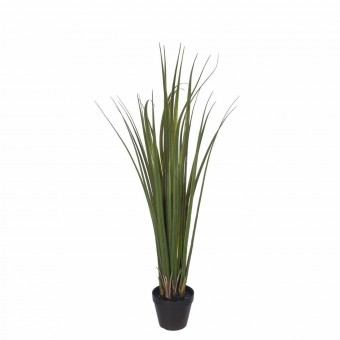 Planta green carex grass artificial 68 con maceta · Plantas artificiales