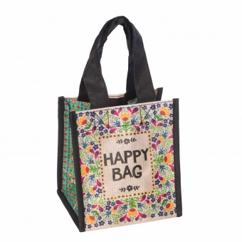 Natural Life bolsa compras mini 'Happy bag' reutilizable - Natural Life