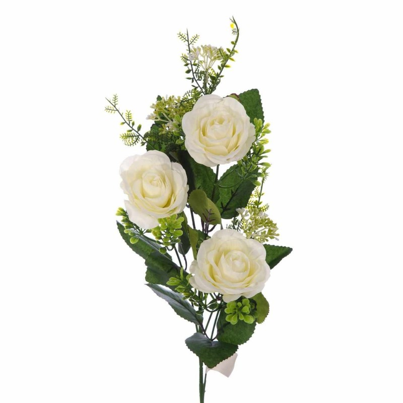 Rama rosas artificiales blancas · Flores artificiales · La Llimona home