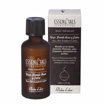 Brumizador · Aceite esencial Yuzu, Pomelo Rosa y Cedro 50 ml · Brumizadores, esencias y brumas 2 · La Llimona home