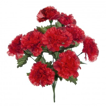 Planta clavel artificial rojo 45 · Plantas artificiales · La Llimona home