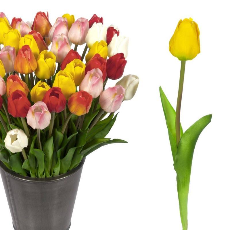 Flor túlipan artificial amarillo · Flores artificiales · La Llimona home