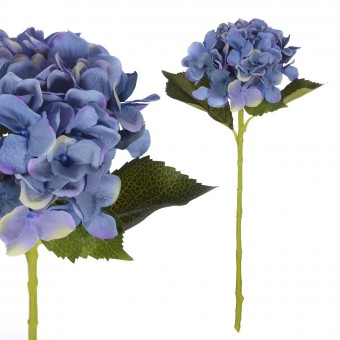 Flores artificiales · Hortensia artificial azul 54 · La Llimona home