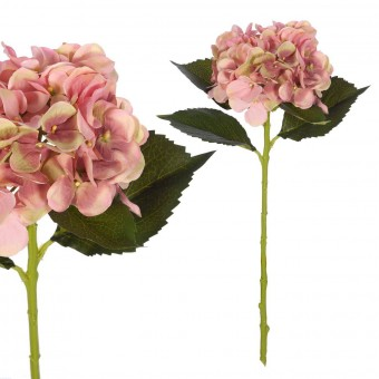 Flores artificiales · Hortensia artificial rosa 54 · La Llimona home