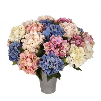 Flores artificiales · Hortensia artificial crema 54 · La Llimona home