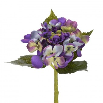 Flores artificiales - Hortensia artificial lavanda 33