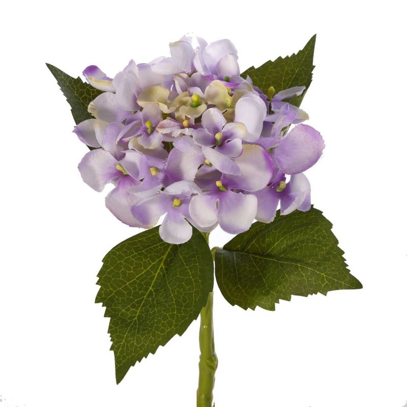 Flores artificiales - Hortensia artificial violeta 33