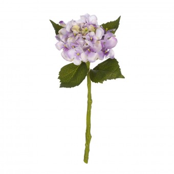Flores artificiales - Hortensia artificial violeta 33 3
