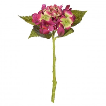 Flores artificiales · Hortensia artificial cereza 33 3 · La Llimona home