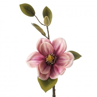 Magnolia artificial malva 46 · Flores artificiales 2 · La Llimona home