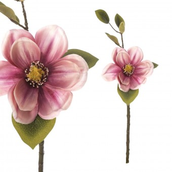 Magnolia artificial malva 46 · Flores artificiales · La Llimona home