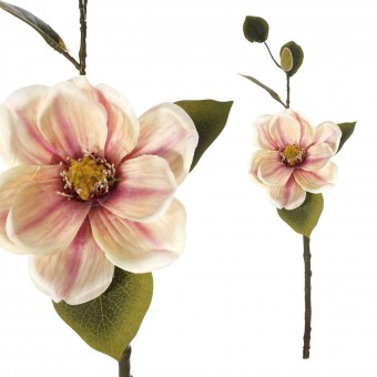 Magnolia artificial bicolor 46 - Flores artificiales